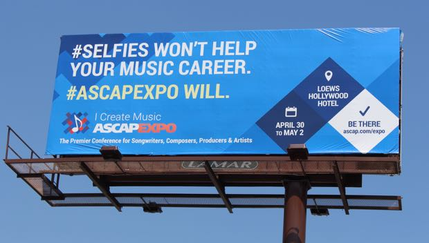 2015 ASCAP EXPO Billboard